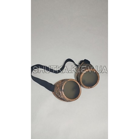 Очки Стимпанк Гогглы (бронза) фото 1 — Shutka