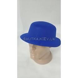 Шляпа котелок флок