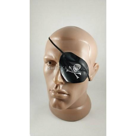 Повязка пиратская на глаз ( кожа) фото 1 — Shutka