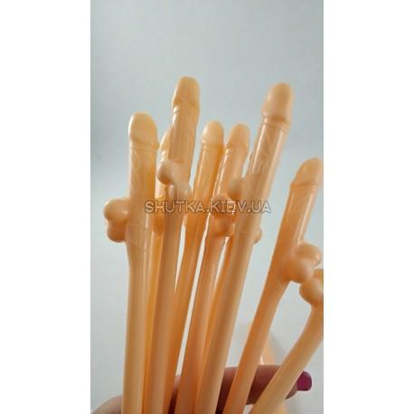 Трубочки коктейльный вилли фото 1 — Shutka