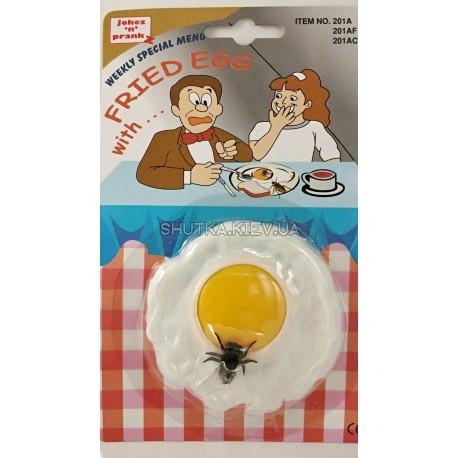 Яичница с мухой фото 1 — Shutka