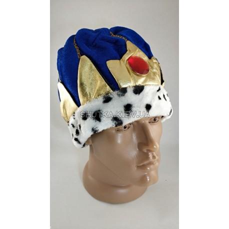 Шляпа Царя (синяя) фото 1 — Shutka