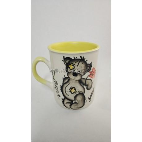 Чашка  Доброе утро медведь фото 1 — Shutka