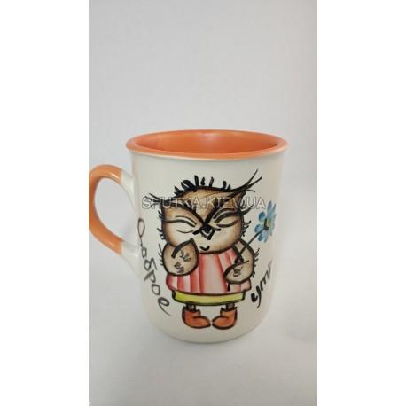 Чашка доброе утро сова фото 1 — Shutka