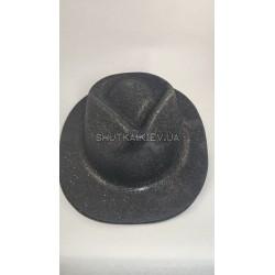 Шляпа  с блестками (подростковая)