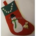 Рождественский носок апликация
