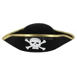 Шляпа Пиратская треуголка детская